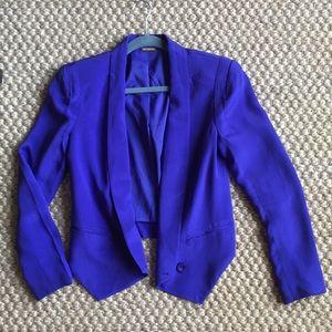 Rebecca Minkoff Purple Blazer- Size 4